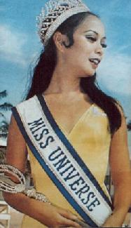 Miss Universe 1969: Gloria Diaz